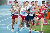 800 m men final Barcelone 2010.jpg