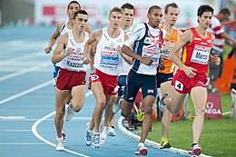 800 m men final Barcelone 2010.jpg