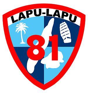 81st Division (Philippines) - 81st Philippine Division Emblem 1941-42