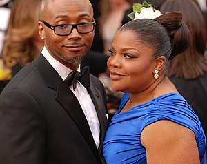 Mo'Nique - Mo'Nique and husband Sidney Hicks attending the 82nd Academy Awards