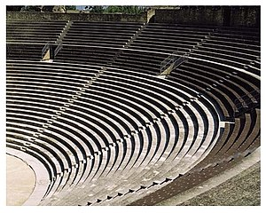 Roman Theatre of Orange - Image: 955 ORG1005