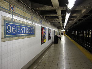 96th Street (IRT Lexington Avenue Line) - Uptown platform