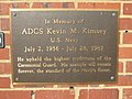ACDS Kevin M. Kimsey plaque 02.jpg