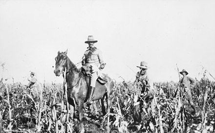 Troops of the 1st Battalion, Australian Commonwealth Horse in the Transvaal, 1902. ACH South Africa 1902.jpg