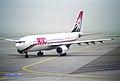 AMC Aviation Airbus A300B4-203; SU-BMM@ZRH;28.09.1997 (6470793141).jpg