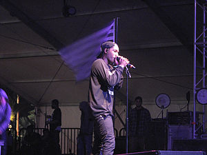 ASAP Rocky - Rocky performing at the 2012 Coachella Valley Music and Arts Festival