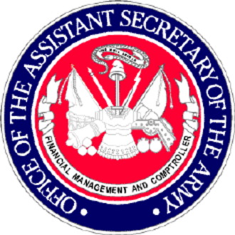 Assistant Secretary of the Army (Financial Management and Comptroller) - Seal of the Office of the Assistant Secretary of the Army (Financial Management and Comptroller)