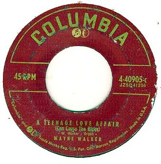 Columbia Records - Columbia used this label for its 45 r.p.m. records from 1951 until 1958.