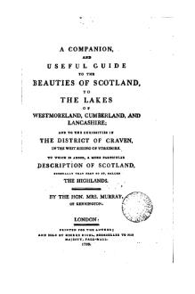 A Companion and Useful Guide to the Beauties of Scotland.djvu