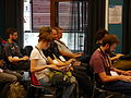 A Framework to Evaluate Entities Impact session at Wikimania 2014 02.jpg