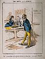A Frenchman in a tobacconist's declares he will take snuff t Wellcome V0019119.jpg