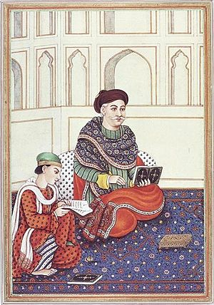 Punjabi Shaikh - Image: A Khattri nobleman, in 'Kitab i tasrih al aqvam' by Col. James Skinner, aka Sikandar (1778 1841)