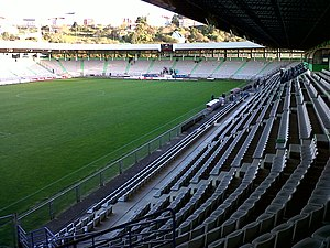Racing de Ferrol - Estadio Municipal da Malata.
