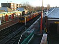 A Metro leaves West Jesmond Station - geograph.org.uk - 1068435.jpg