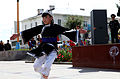 A Mongolian dancer performs during the opening ceremony for Khaan Quest 2013 in Ulaanbaatar, Mongolia, Aug. 2, 2013 130802-M-MG222-005.jpg