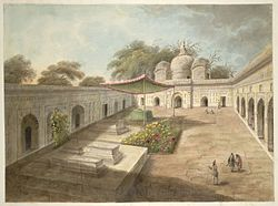 A Mosque and a shrine, Najibabad, 1814-15.jpg