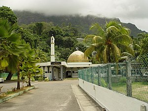 Islam in Seychelles - A mosque in Mahe