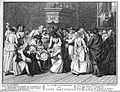 A Portugese Jewish circumcision ceremony. Engraving, 1741, a Wellcome L0020463.jpg