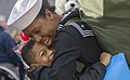 A Sailor is welcomed home by her son. (27531735399).jpg