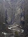 A cliff near by Trollveggen in Møre og Romsdal, Norway in 2013 June.jpg