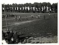 A football match. (9th) Gurkhas versus a Signal Company (of the Dehra Dun Brigade, at St Floris, France). Photographer- H. D. Girdwood. (13875720965).jpg