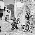 A patrol of the 2-7th Queen's Regiment enters the village of Pugliano, Italy, September 1943. NA6961.jpg