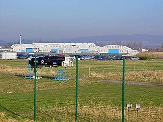 Brough Aerodrome airport in the United Kingdom