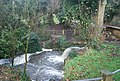 A small waterfall in Mote Park - geograph.org.uk - 1610368.jpg