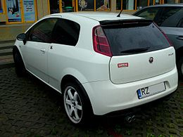 Abarth Grande Punto rear.JPG