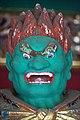 Abatsumara, gardien de la porte Yasha-mon du temple Taiyuin (Nikko, Japon) (41550302230).jpg
