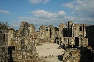 Landévennec Abbey - Ruins of the mediaeval Landévennec Abbey