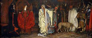 Cordelia of Britain - Edwin Austin Abbey (1852–1911) King Lear, Cordelia's Farewell