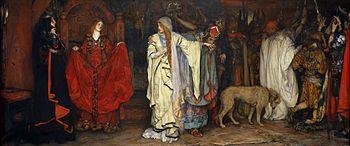 King Lear: Cordelia's Farewell by Edwin Austin Abbey
