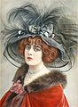 Abel Faivre, 1910 - Geneviève Lantelme in Le Costaud des Epinettes.jpg