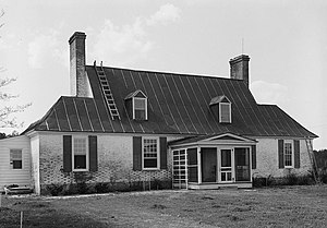 National Register of Historic Places listings in Gloucester County, Virginia - Image: Abingdon Glebe House, U.S. Route 17 vicinity, Gloucester vicinity Gloucester County, Virginia)
