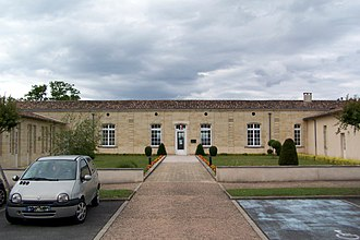Abzac, Gironde - Town hall