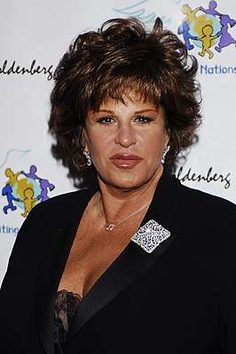 Lainie Kazan tijdens de 79e jaarlijkse Academy Awards Children Uniting Nations / Billboard afterparty, 2007.