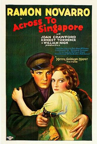 Across to Singapore - Image: Across to Singapore poster
