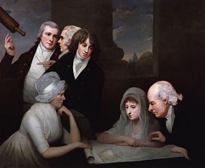 Adam Walker (inventor) - Adam Walker and his family by George Romney
