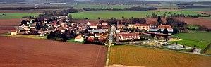 Mauregard - Image: Aerial view of Mauregard (cropped)