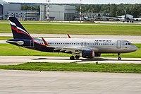 VQ-BST - A320 - Aeroflot