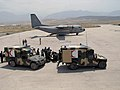 Afghan National Army and U.S. medics load patients onto a C-27 Spartan at Mazar-e-Sharif .jpg