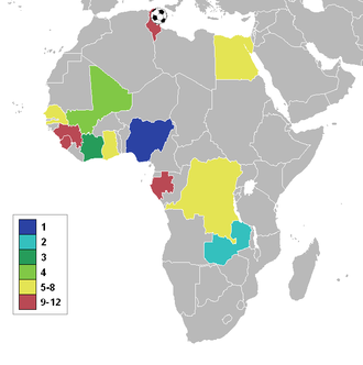1994 African Cup of Nations - Participating nations