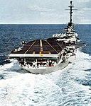 Aft view of USS Lexington (CVA-16) in 1957.jpg