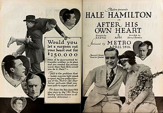 After His Own Heart - Ad for After His Own Heart Moving Picture World (1919)