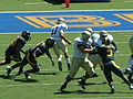 Aggies on offense at UC Davis at Cal 2010-09-04 6.JPG