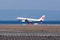 Air China ,CA921 ,Airbus A330-243 ,B-6540 ,Arrived from Shanghai ,Kansai Airport (16048289543).jpg