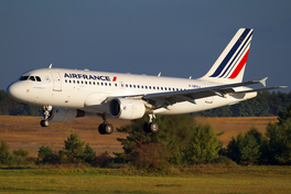 In Airbus A319 fan Air France