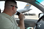 Air Transportation Airmen From the 380th Expeditionary Logistics Readiness Squadron's Air Terminal Operations Center Drives a 60,000-pound-capable Aircraft Loader to Unload a Plane During Operations DVIDS290896.jpg