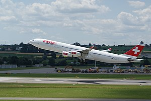 Airbus A340-300 Swiss International Air Lines.JPG